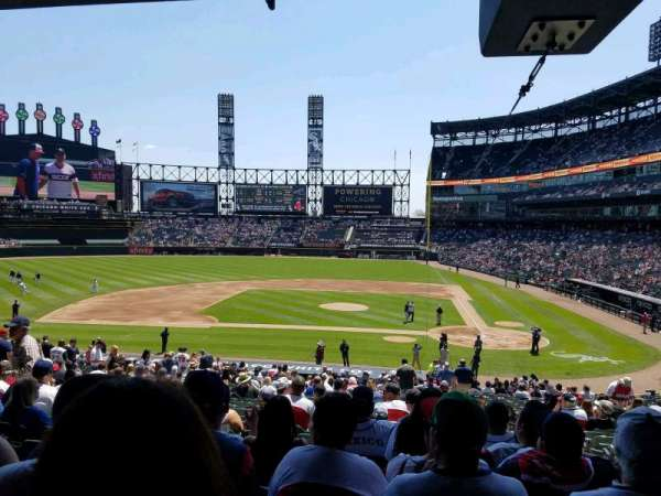 Guaranteed Rate Field, section: 137, row: 37, seat: 2