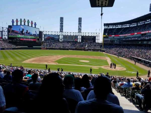Guaranteed Rate Field, section: 137, row: 37, seat: 1
