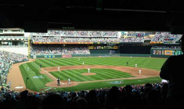 Target Field, section: 112