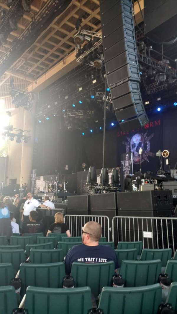 Ruoff Home Mortgage Music Center, section: C, row: P, seat: 20