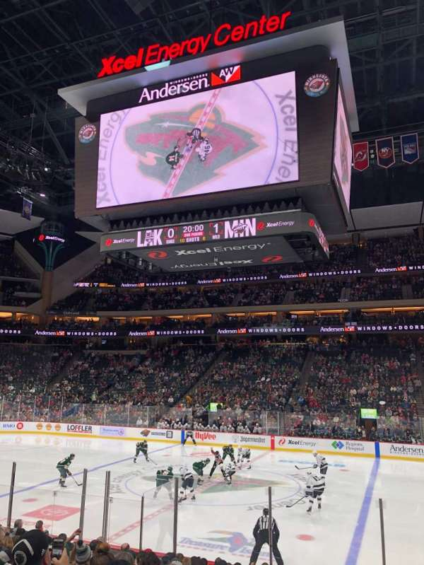 Xcel Energy Center, section: 103, row: 14, seat: 3