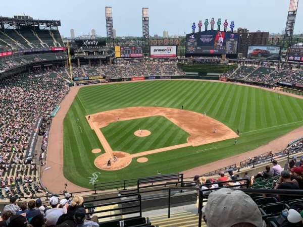 Guaranteed Rate Field, section: 529, row: 12, seat: 2