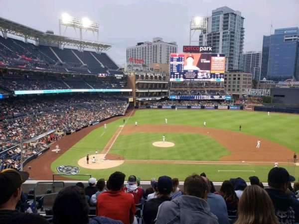 PETCO Park, section: 205, row: 9, seat: 4