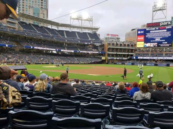 PETCO Park, section: 113, row: 17, seat: 16