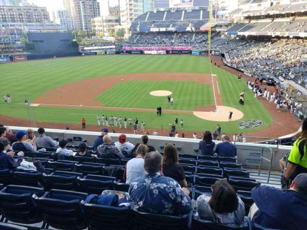 PETCO Park, section: 206, row: 9, seat: 2