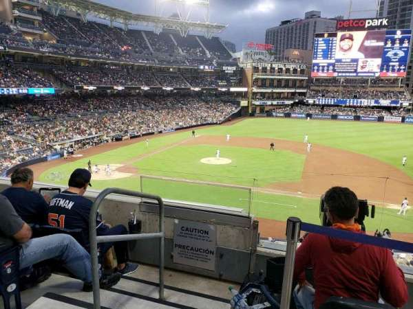 PETCO Park, section: 209, row: 4, seat: 2