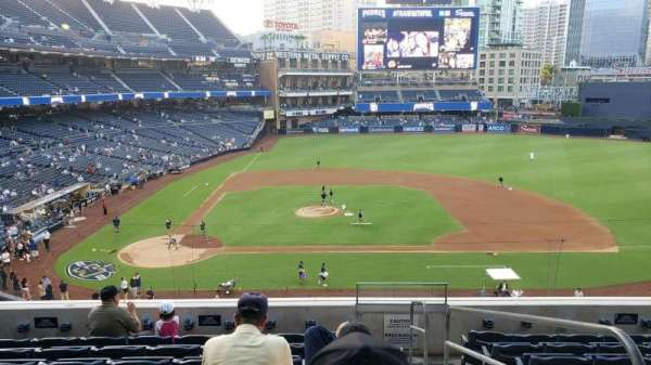 PETCO Park, section: 205, row: 8, seat: 12
