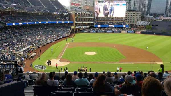 PETCO Park, section: 205, row: 13, seat: 4