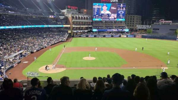 PETCO Park, section: 205, row: 10, seat: 4