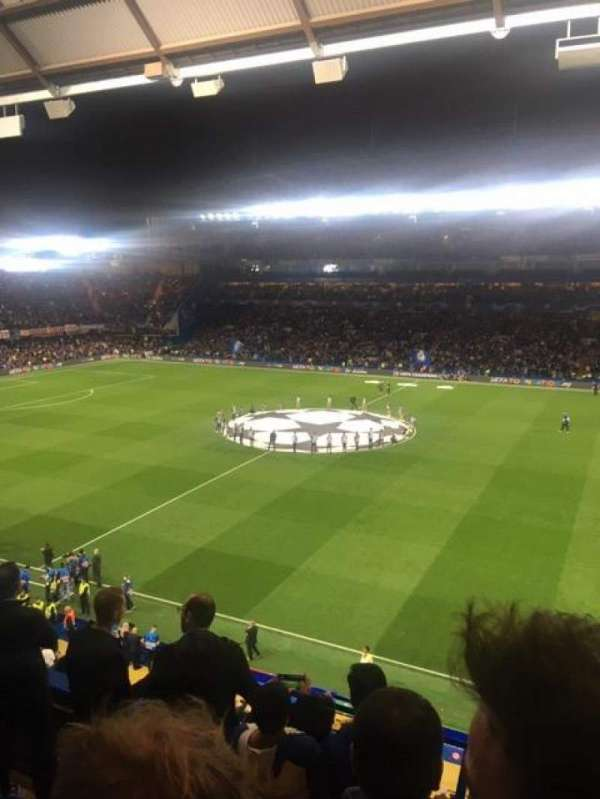 Stamford Bridge, section: East Stand Upper, row: 5, seat: 40