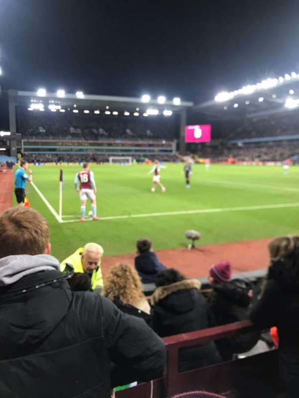 Villa Park, section: L7, row: C, seat: 203