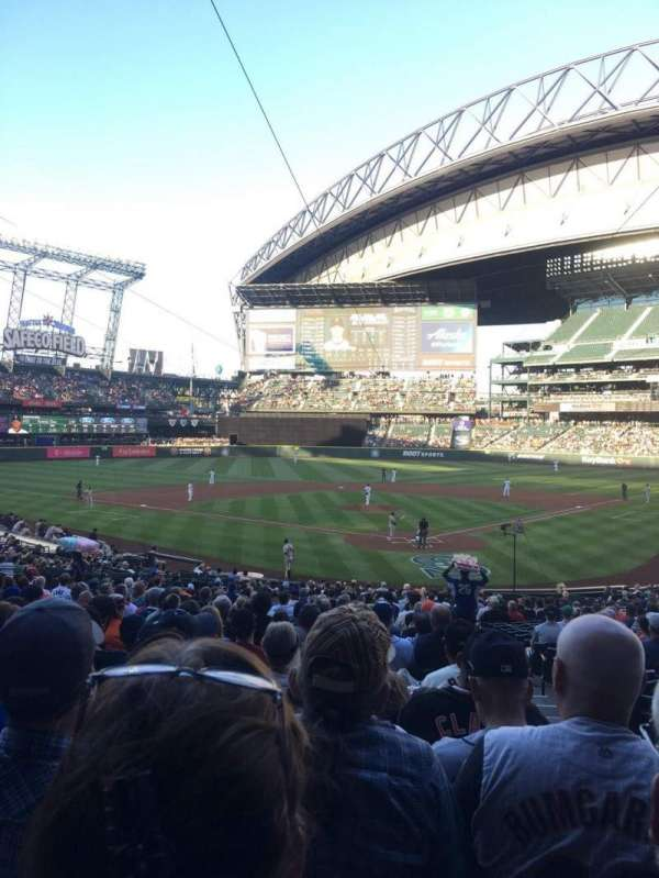 Safeco Field, section: 132, row: 34, seat: 2
