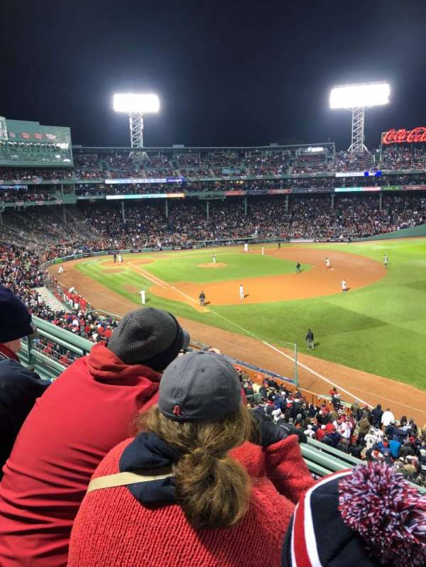 Fenway Park, section: Right Field Roof Box 25, row: B, seat: 1