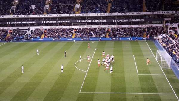 White Hart Lane, section: C, row: 15, seat: 65
