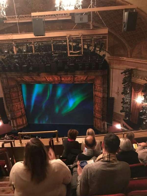 St. James Theatre, section: Balcony, row: E, seat: 4