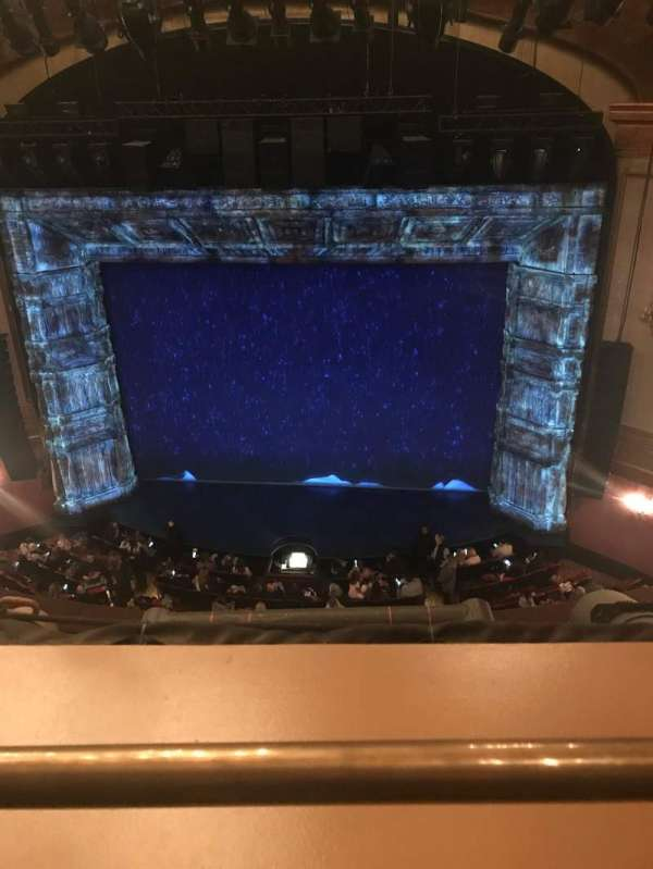 St. James Theatre, section: Balcony, row: A, seat: 103