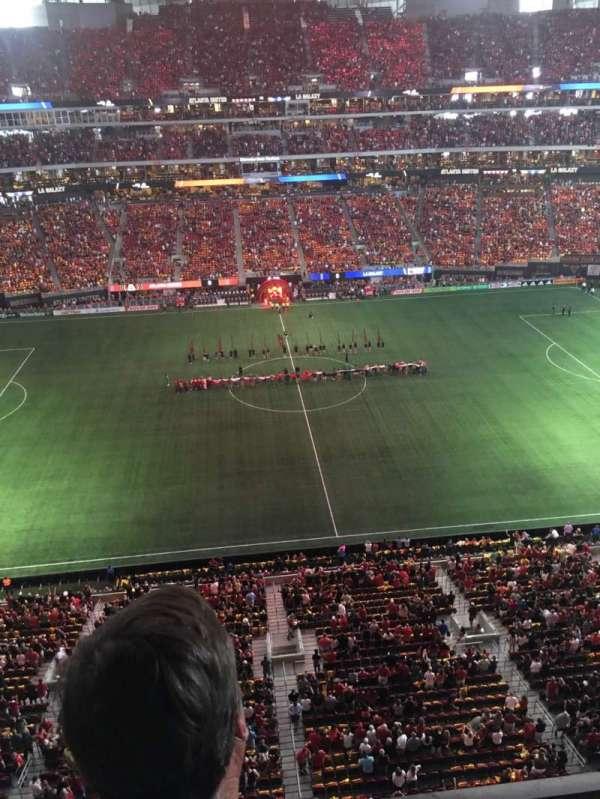 Mercedes-Benz Stadium, section: 312, row: 2, seat: 12