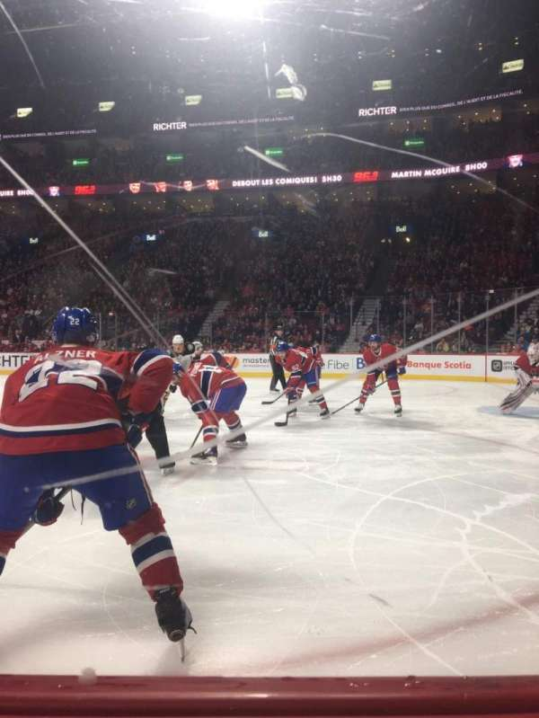 Centre Bell, section: 110, row: AA, seat: 5