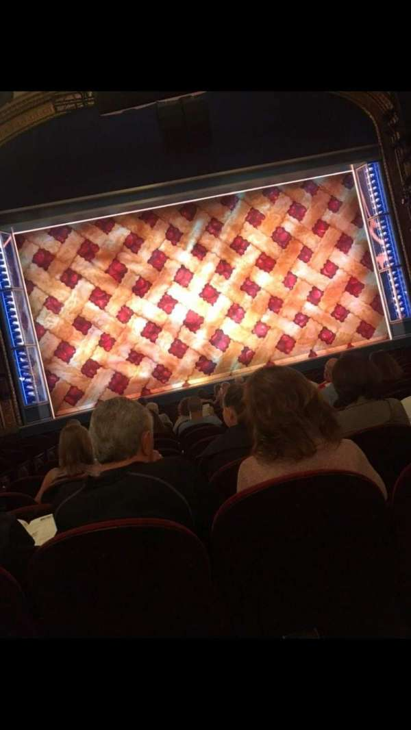 Brooks Atkinson Theatre, section: Orchestra, row: N, seat: 103