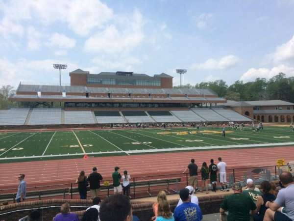 Zable Stadium Section 114 Home Of William Mary Tribe