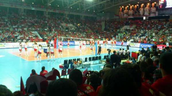 Başkent Voleybol Salonu, section: A404, row: 4, seat: 23