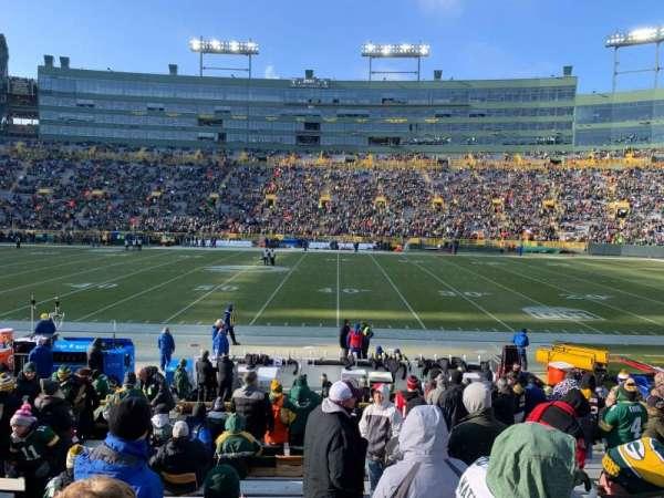 Lambeau Field, section: 117, row: 16, seat: 8