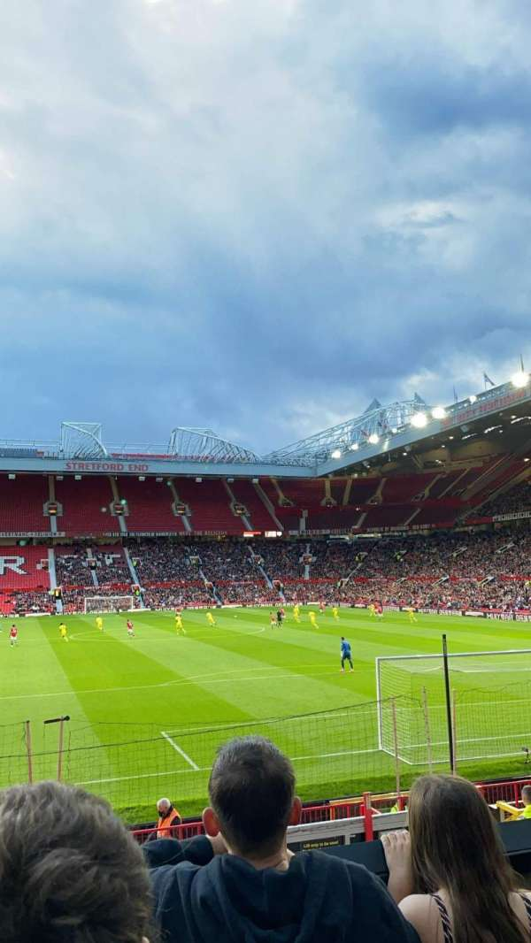Old Trafford, section: E234, row: 3, seat: 133