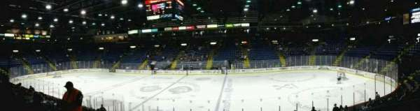 Santander Arena, section: 104, row: N, seat: 2