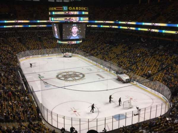 TD Garden, section: Bal 325, row: 5, seat: 11