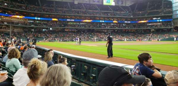 Minute Maid Park, section: 129, row: 3, seat: 16