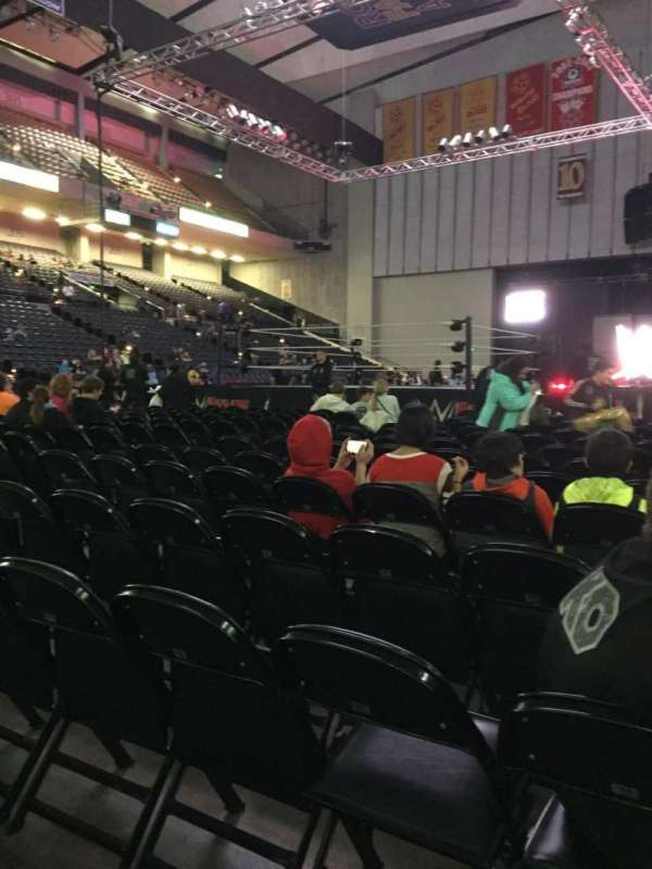 Royal Farms Arena, section: FLR-4, row: N, seat: 5