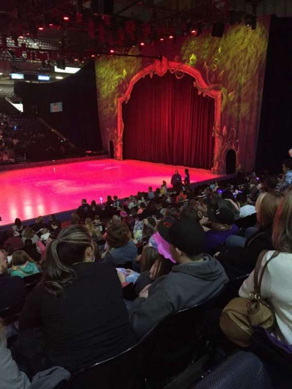 Royal Farms Arena, section: 110, row: L, seat: 12