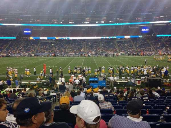 Gillette Stadium, section: 131, row: 18, seat: 19