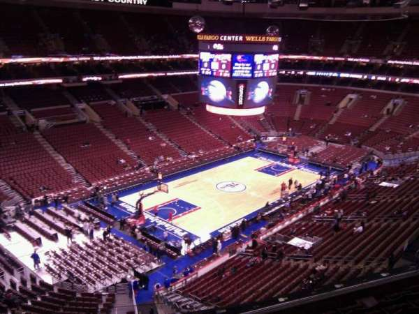 Wells Fargo Center, section: 223, row: 6, seat: 1
