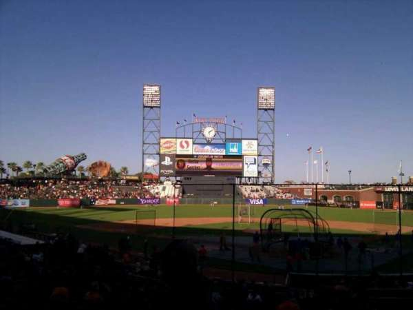AT&T Park, section: 117, row: 26, seat: 9
