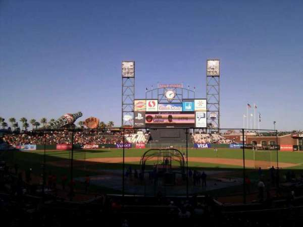 AT&T Park, section: 116, row: 26, seat: 9