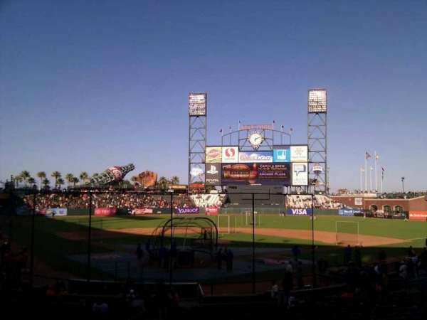 AT&T Park, section: 115, row: 26, seat: 9
