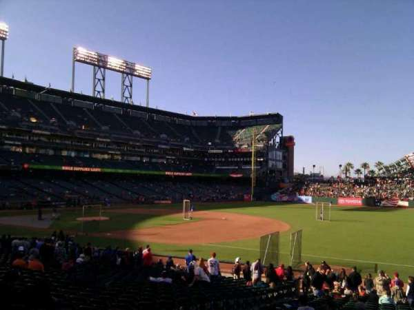 AT&T Park, section: 104, row: 25, seat: 11