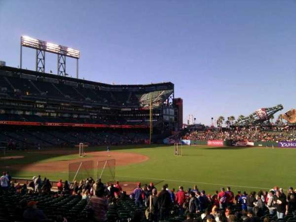 AT&T Park, section: 103, row: 23, seat: 19