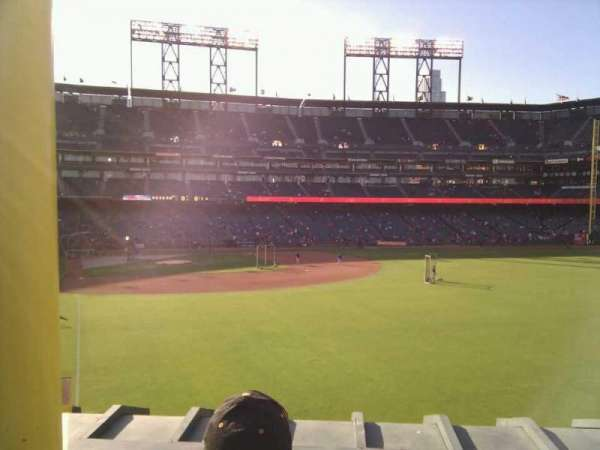 AT&T Park, section: 150, row: 2, seat: 4