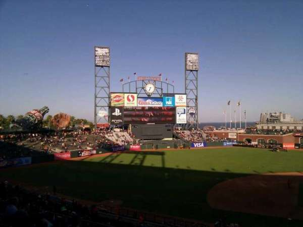 AT&T Park, section: 223, row: g, seat: 1