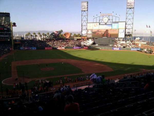 AT&T Park, section: 211, row: i, seat: 10