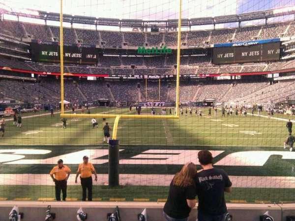 MetLife Stadium, section: 126, row: 6, seat: 7