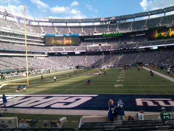 MetLife Stadium, section: 149, row: 12, seat: 9