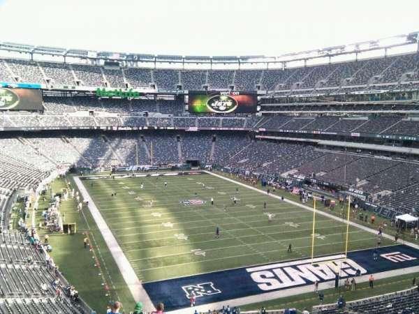MetLife Stadium, section: 204, row: 12, seat: 1