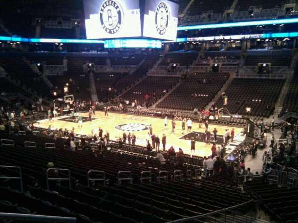 Barclays Center, section: 105, row: 4, seat: 15