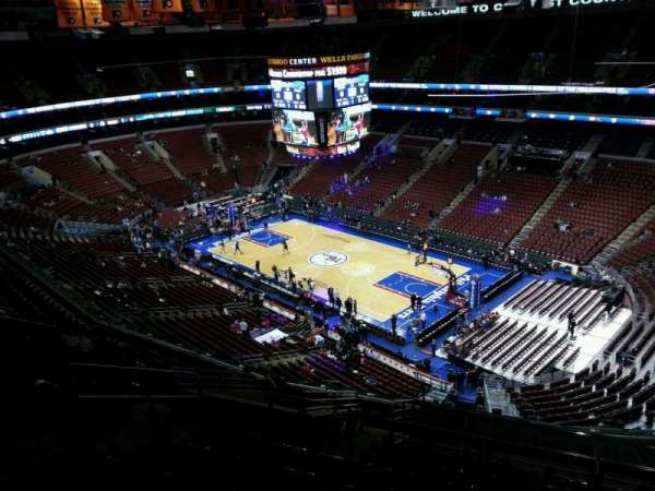Wells Fargo Center, section: 204a, row: 14, seat: 6