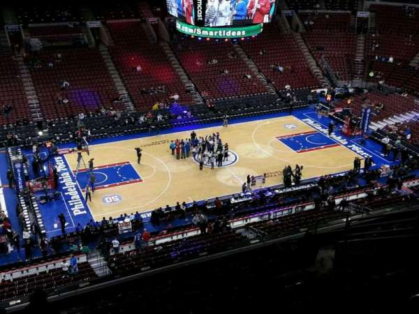 Wells Fargo Center, section: 223, row: 10, seat: 13