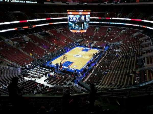 Wells Fargo Center, section: 221, row: 11, seat: 11