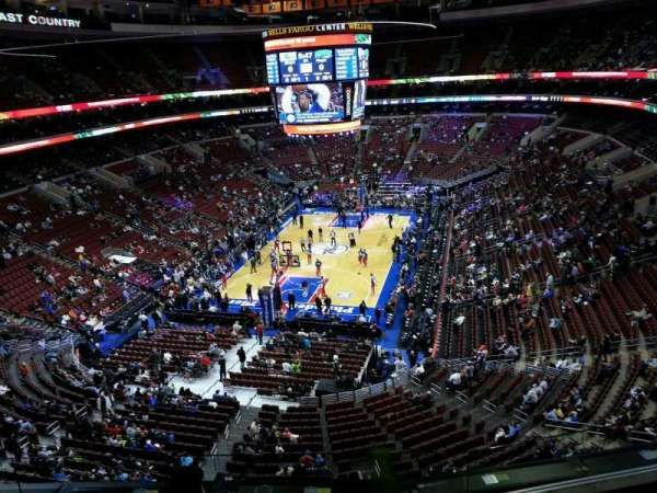 Wells Fargo Center, section: 208, row: 4, seat: 6